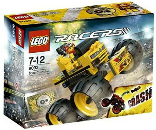 Lego racer crash Bone Crusher Bone Cruncher 9093
