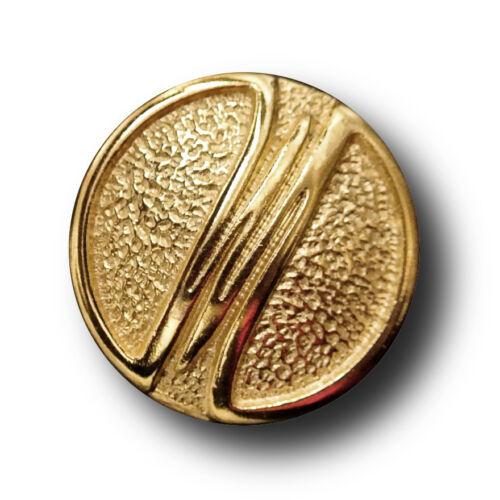 10 dorado metal botones-muy noble 2615g-23mm