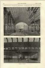 1897 Nizhny Novgorod Exhibition Machinery Hall During Construction