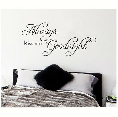 DIY Quote Word Poem Art Removable Vinyl Wall Sticker Decal Mural Home Room Decor