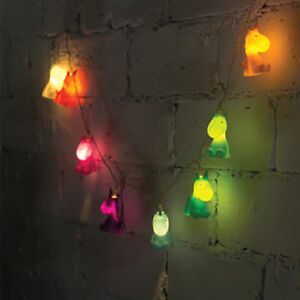 Image Is Loading Unicorn String Lights Colourful Mood Kids S