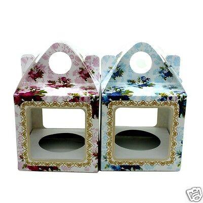 Cupcake Muffin Scatole Per Festa Matrimonio Baby Shower Battesimo Compleanno- Vendendo Bene In Tutto Il Mondo