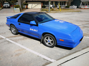 1988 daytona shelby 2.2 turbo, top of the line