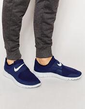 Nike Free Socfly Scarpe Da Ginnastica Palestra Running Casual Slip-On Misure UK 6.5 (EUR 40.5) BLU SCURO