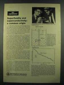 1966 Bell Telephone Laboratories Ad - Superfluidity