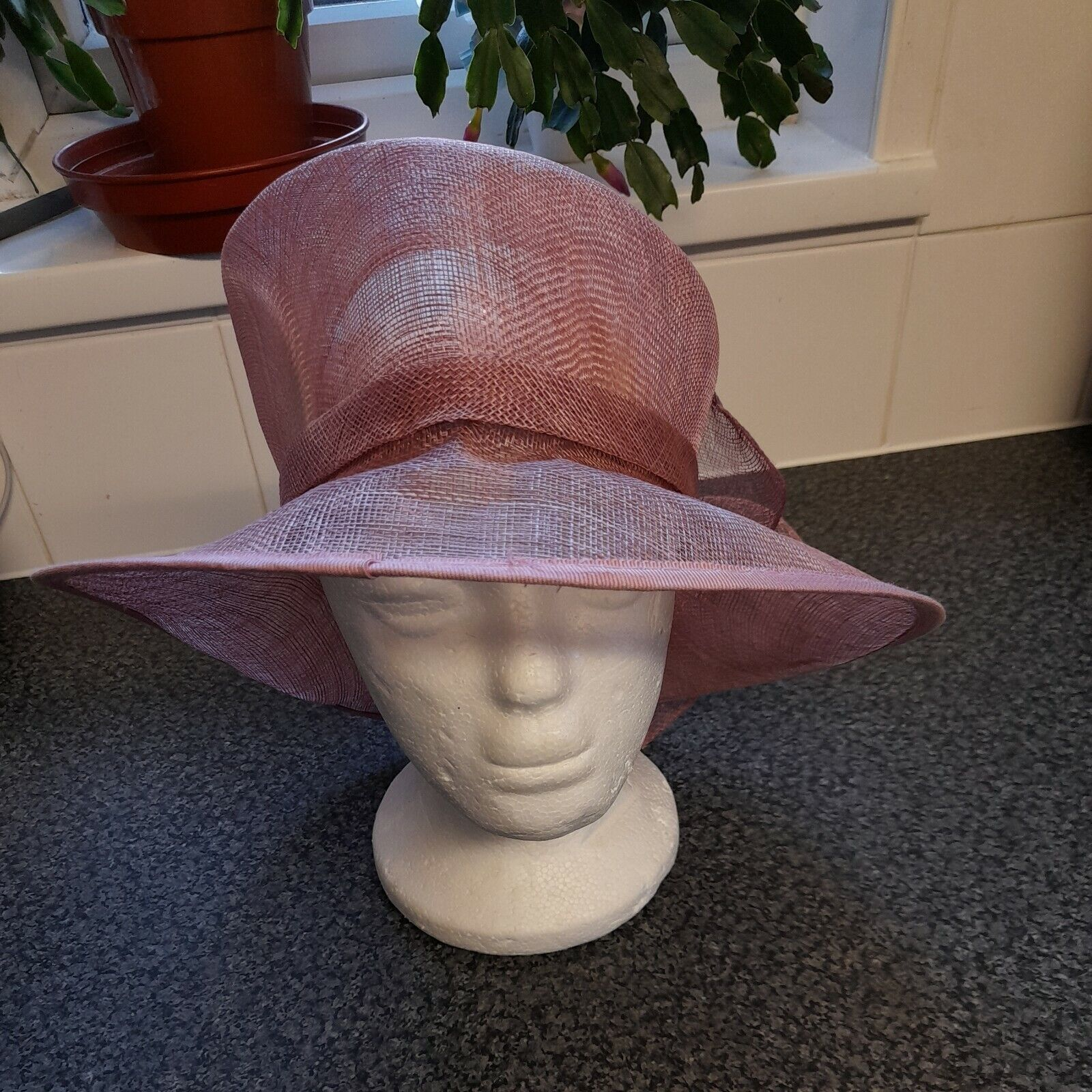 Pink formal hat From Accessorize