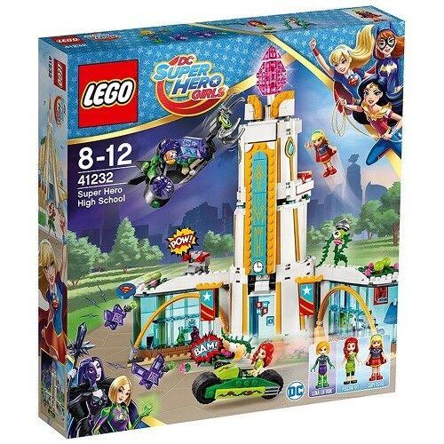 NEW NEW NEW Lego DC SUPER HERO GIRLS (41232) Super Hero High School - 712 pcs bafe39