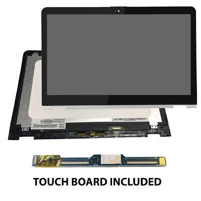 USA New HP ENVY X360 M6-AQ103DX M6-AQ105dx Touch screen glass digitizer /& bezel