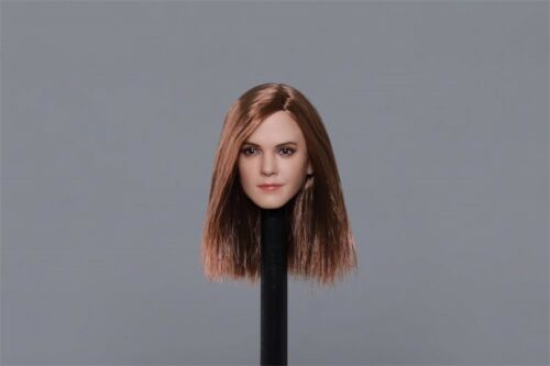 "1//6 Scale Hermione Emma Watson Head Sculpt Model For 12/"" Female Figure Body Toys"