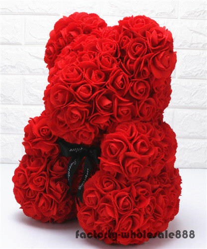 45cm Giant large huge big teddy bear rose flower bear toys Valentine Xmas gift