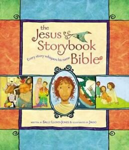 NEW The Jesus Storybook Bible By Sally Lloyd-Jones Hardcover Free Shipping
