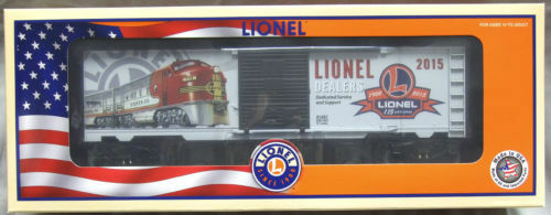 2015 Lionel Dealer apprezzamento scatolaauto 681497 nella scatola MASTER Nuovo Non Aperto