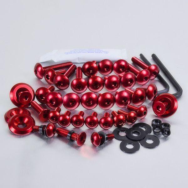 Aluminium Fairing Kit Honda CBR125R Red