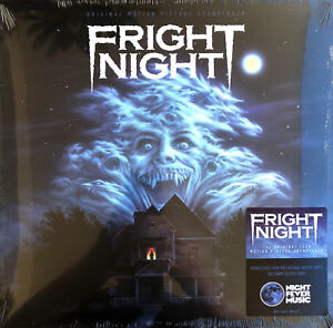 Compilation-LP-Fright-Night-Limited-Edition-180g-Colored-Vinyl-USA-M-M