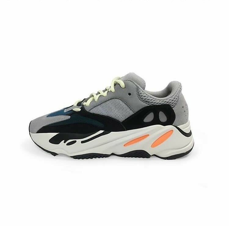 Adidas Yeezy Boost Wave Runner 700 Sz 9.5 100% Auth - frozen yellow yebra 350 v2