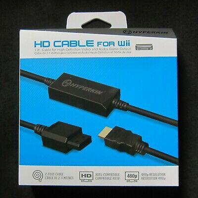 Brand New Hyperkin Wii Hd Hdmi Cable Adapter For Nintendo