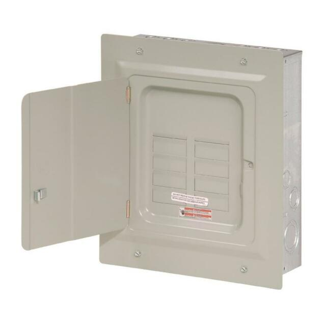 Eaton 125-Amp 6-Space 12-Circuit Indoor Main Lug Load Breaker Electrical Panel