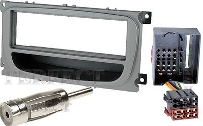 Radio Blende Doppel DIN FORD Galaxy Transit Connect S-Max Einbau Rahmen ISO Kit