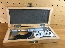 Vis 0 1 Inch Thread Pitch Micrometer With Anvils Made In Poland Free Ship Fast