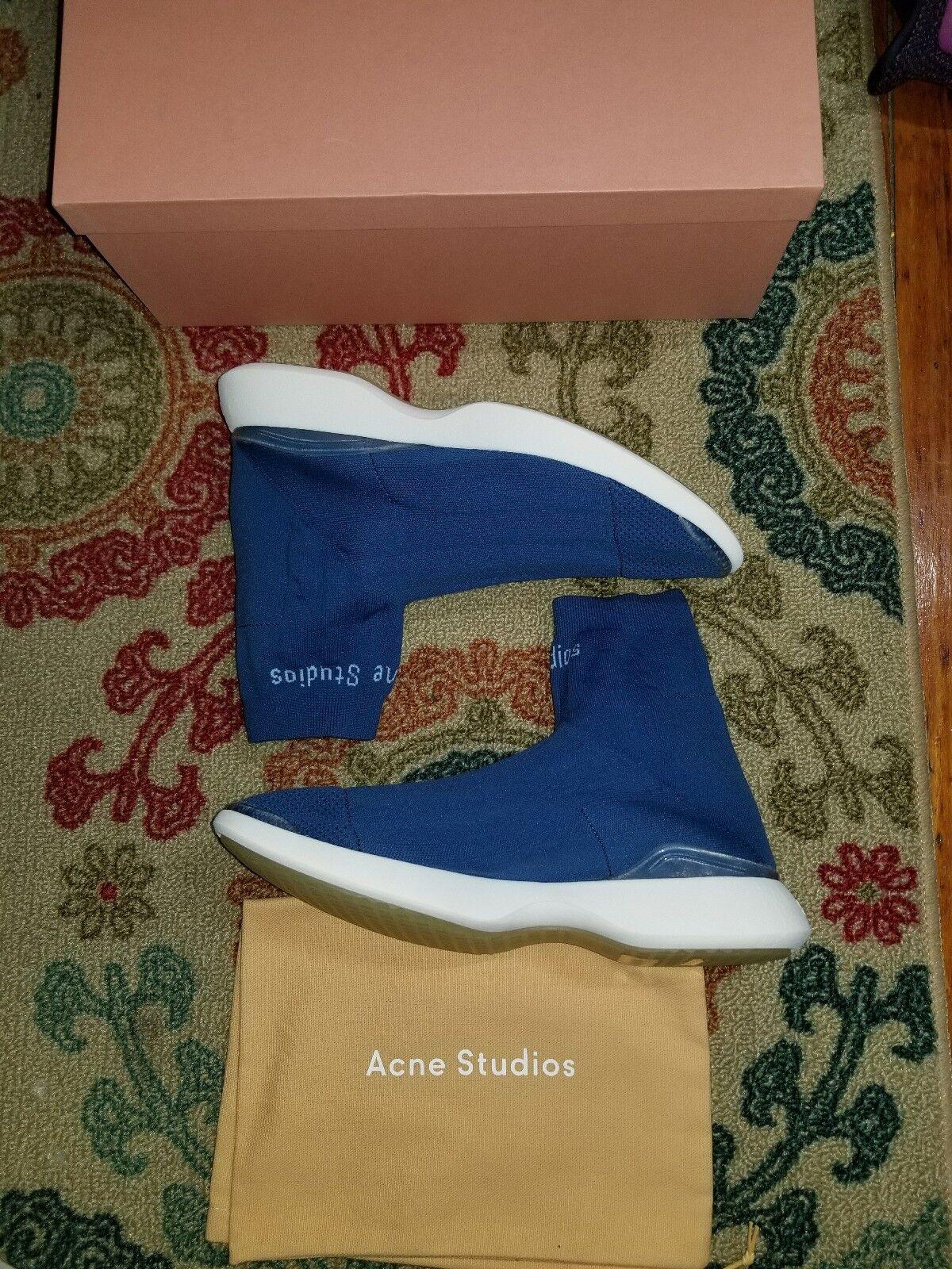 Acne Studios Studios Acne Tristian High-Top Speed Trainers Designer Fashion Stylist hypebeast 4fd41f