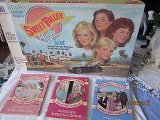 Vintage 1988 Sweet Valley High Board Game by Milton Bradley R9130 & 3 paperbacks