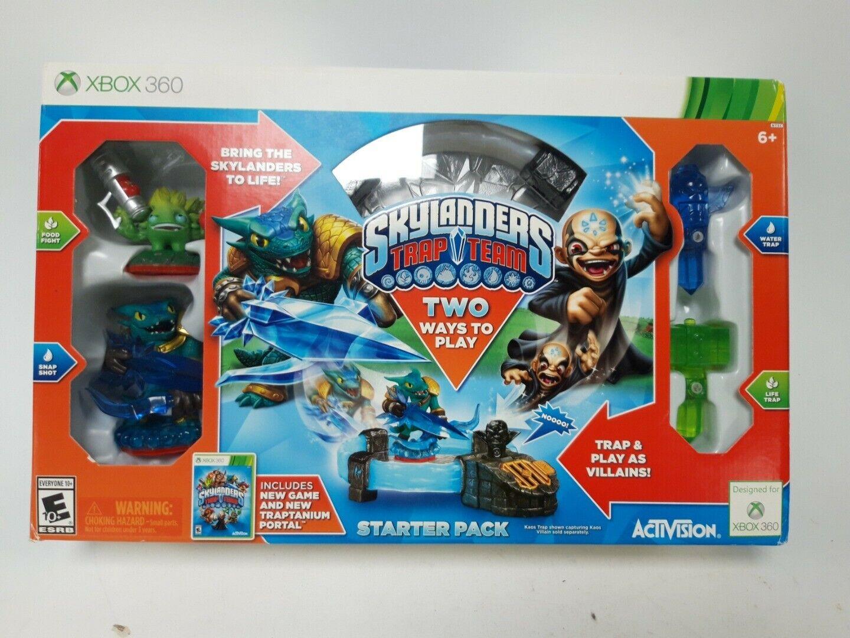 Xbox 360 Skylanders Adventure Starter Pack Trap Team Game Portal Figures Boxed