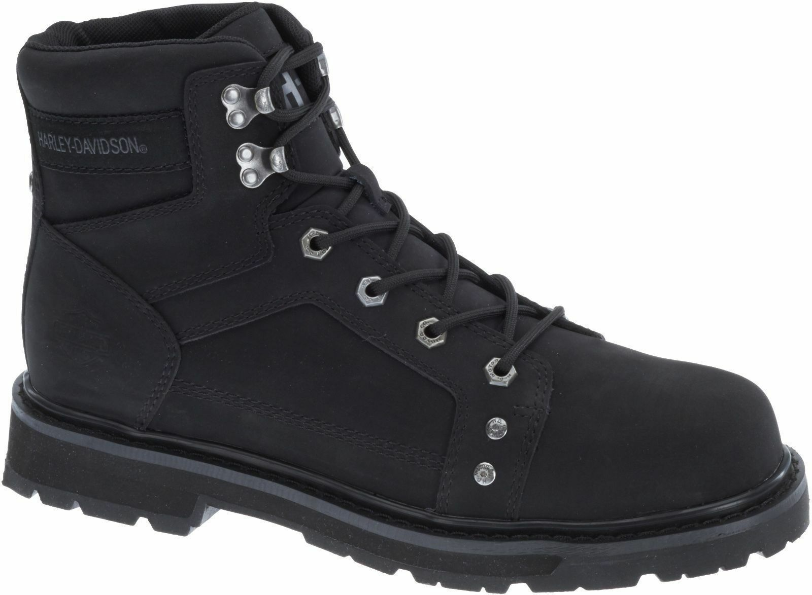 Harley-Davidson Stiefel Stiefel leicht Herren Leder schwarz 93377 KEATING schwarz
