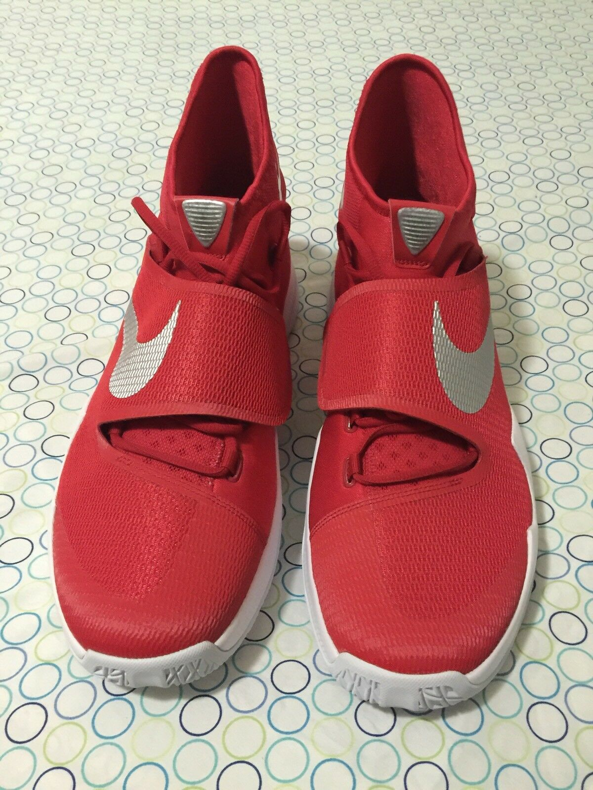 NIKE Zoom Hyperrev TB Red Men's Basketball Shoes New No Box 835439 603 - Sz 16.5 Casual wild