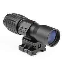 5X Magnifier FTS Flip to Side for Similar Scopes Sights or  Aimpoint for Hunting