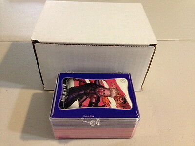 2014 Marvel Dangerous Divas 2 complete base card Set 1-90 (Rittenhouse) 90 cards