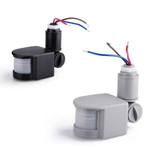 180 pir schalter infrarot bewegungsmelder detector f r led lampe licht ebay. Black Bedroom Furniture Sets. Home Design Ideas