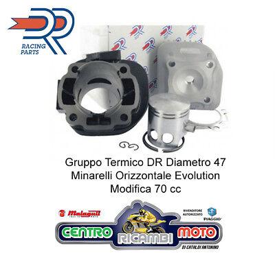 KT00087 GRUPPO TERMICO CILINDRO DR MODIFICA 70CC ø47 MBK FLIPPER OVETTO 50 A//C