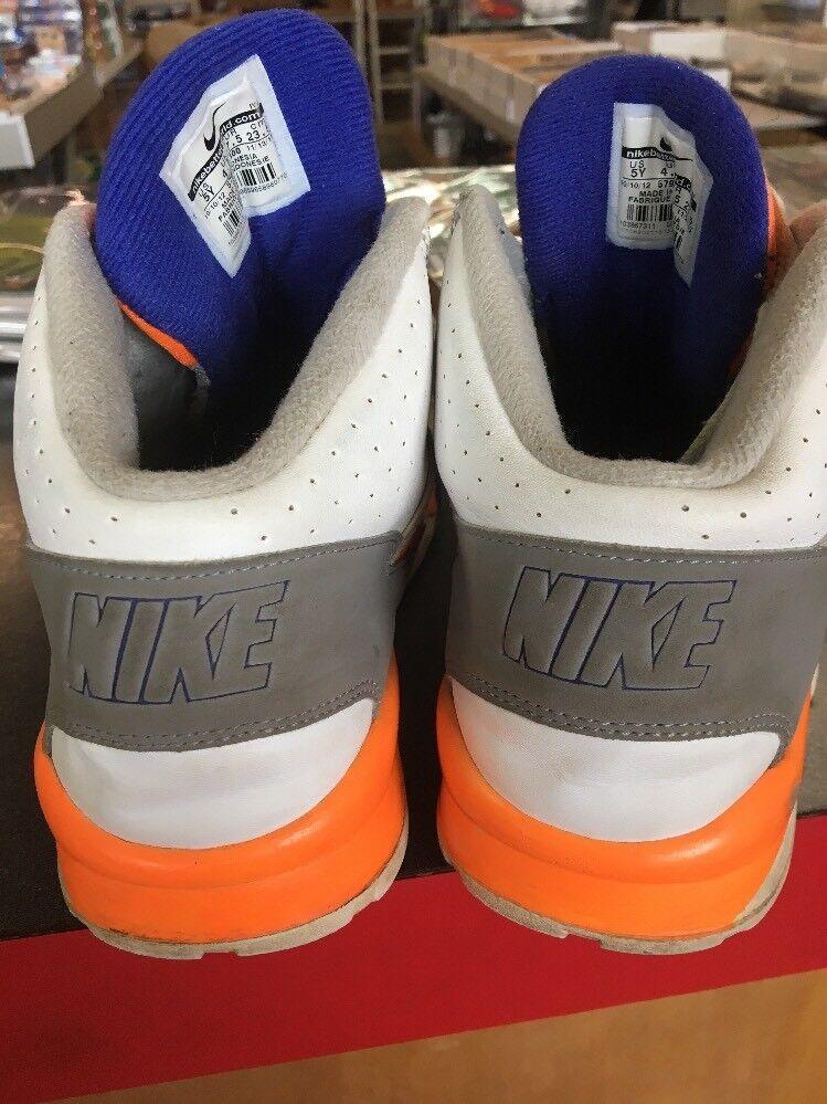 Nike air air air trainer sc alta bianco blu arancione 579806-100 sz 5y c11   Economico E Pratico  34606f