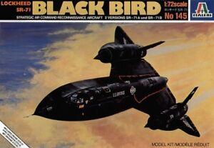 Italeri-1-72-Lockheed-sr-71A-CAJA-BLACKBIRD-con-Drone-145