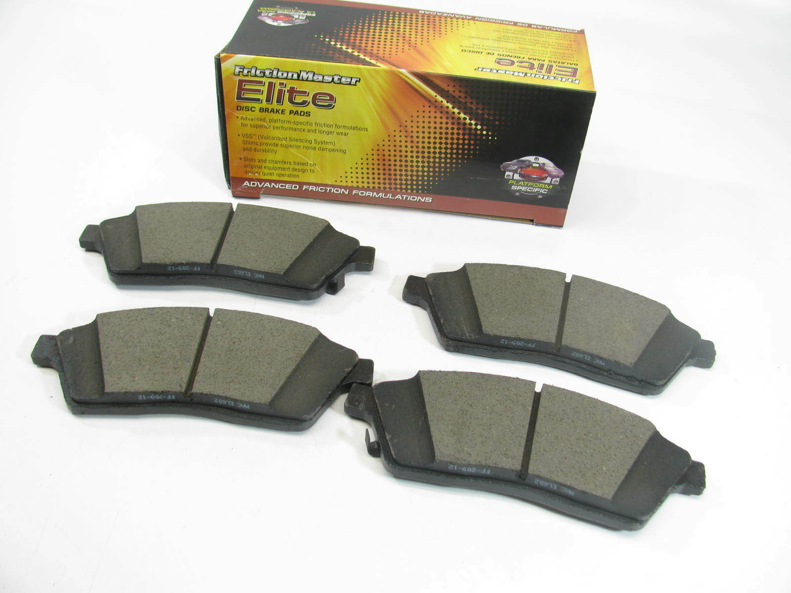 Brand New Parts Master CMX921 Ceramic Disc Brake Pads