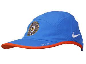 Nike Cricket India National Team ODI T20 Team Dri-Fit Official Cap ... bb11eb8a34e
