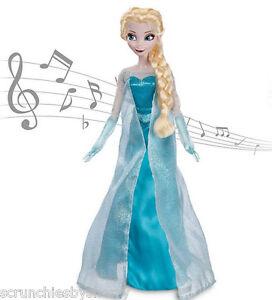 Caricamento dell immagine in corso Disney-Store-Frozen-che-Canta-Elsa- Bambola-Accende- 6d7abab6974