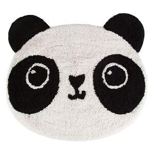 Image Is Loading Kawaii Panda Floor Shaped Rug Mat 100 Cotton