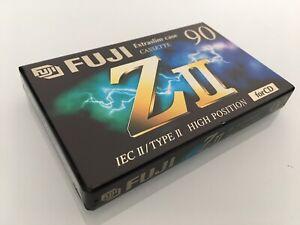 Type Ii Cassette 1995-1997 Modischer In Stil; Fuji Z Ii 90 Audiokassette Ovp Tape