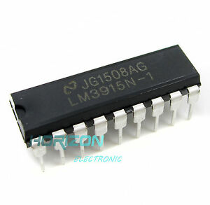 10PCS NSC LM3915 LM3915N LM3915N-1 DIP-18 LED Bar Dot Display Driver IC