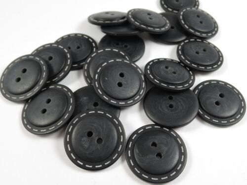 Aran coat jacket Sewing Buttons Upholstery Buttons 4 Hole 50 x 23 mm