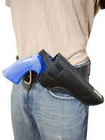Barsony Cross Draw Owb Gun Holster For 38 357 41 44 Astra, Beretta 6 Revolvers