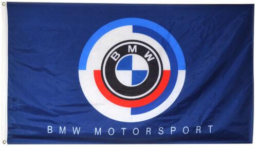 BMW Motorsport Flag Banner 3x5 ft