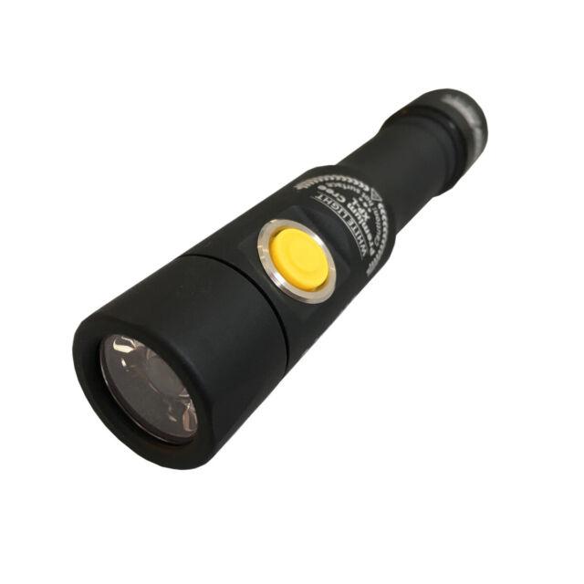 Armytek Prime C2 XP-L (Blanc) USB Incl. Batterie Lampe 1250 Lumen Avec Etui