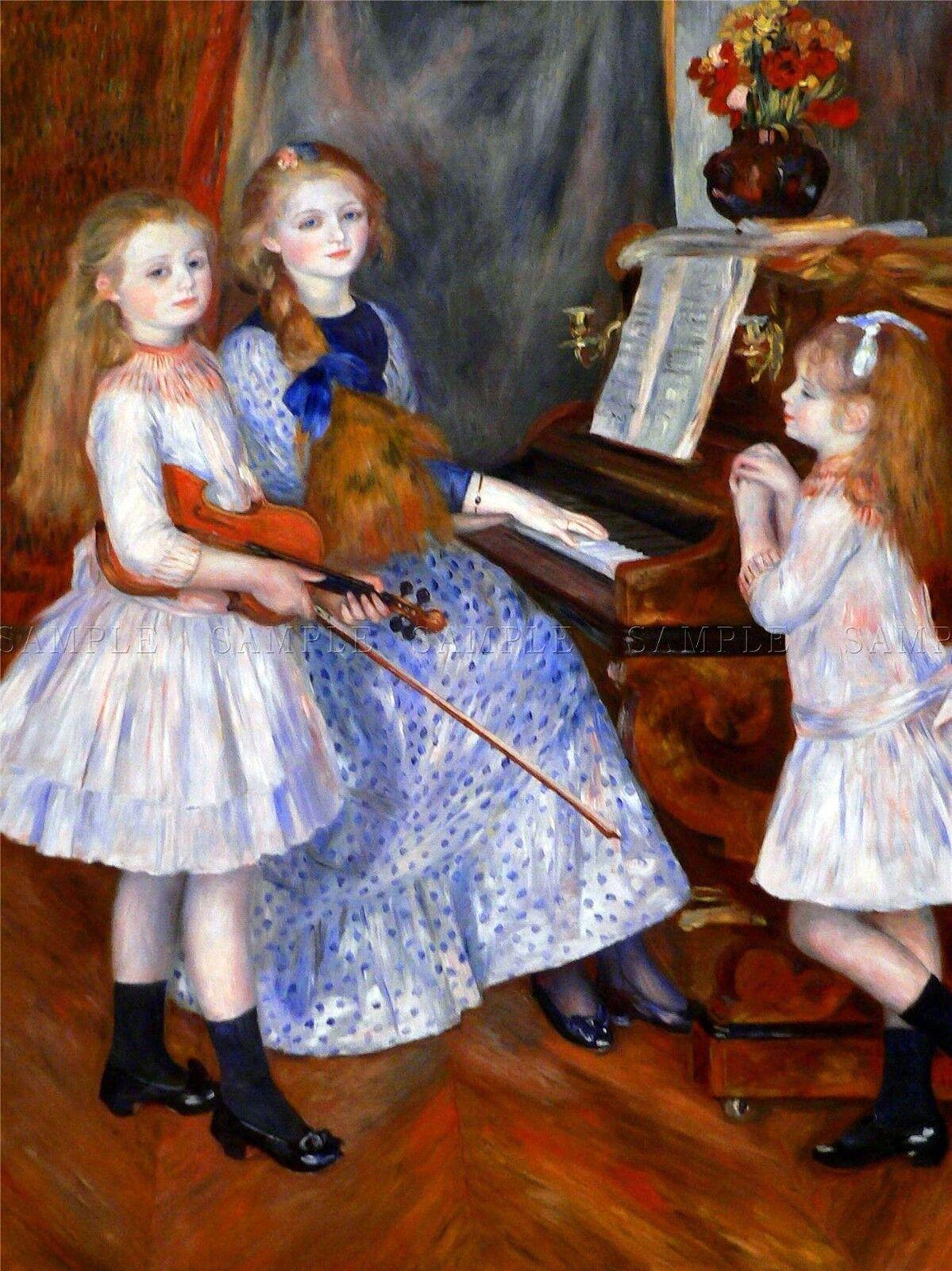 PIERRE AUGUSTE RENOIR PORTRAIT OF WILLIAM SISLEY OLD ART PAINTING PRINT 2497OM