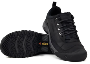 Keen-Targhee-III-Oxford-Black-Magnet-Shoe-Loafer-Men-039-s-US-sizes-7-17-NEW