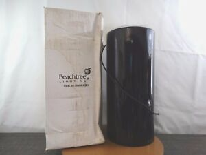 Details About Peachtree Lighting Cylinder Pct Kp 12342c12 Black 26 5 Tall 12 Wide
