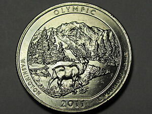 US National Park Quarter Coin 2011-P  BU  Mint State Olympic