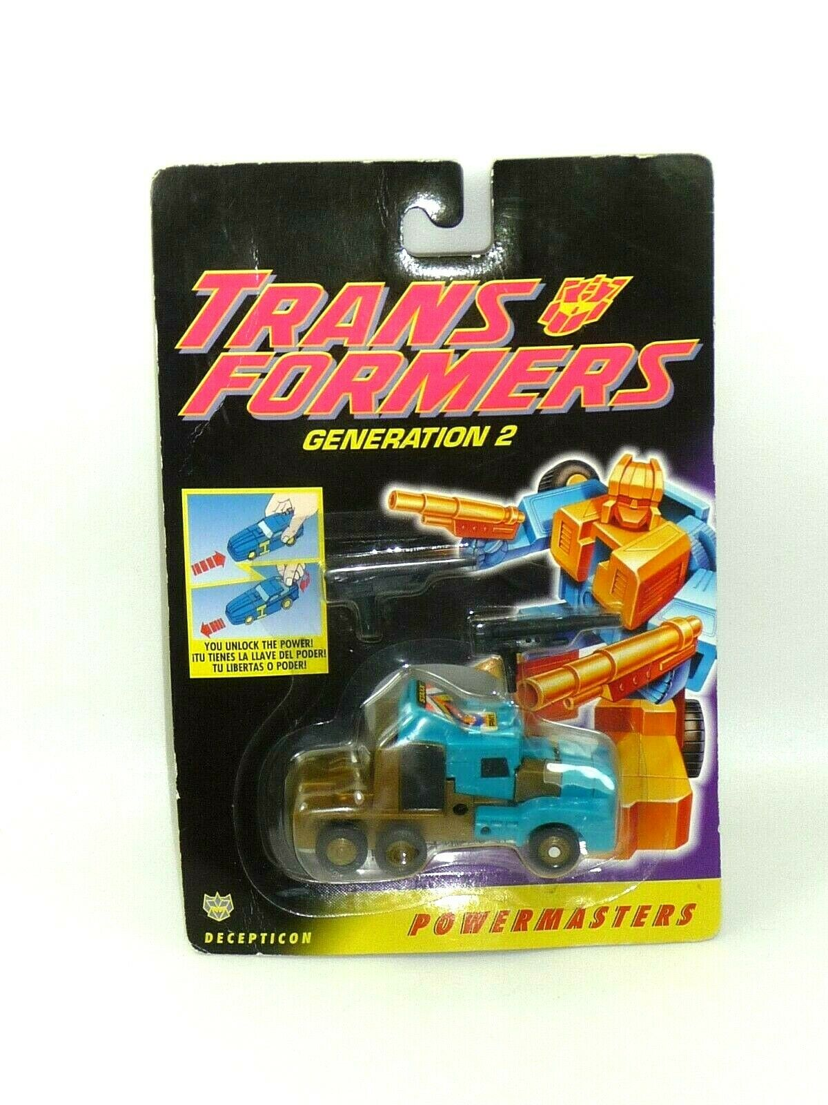 Transformers G2 Staxx powermasters Decepticon 1994 European Hasbro NOS