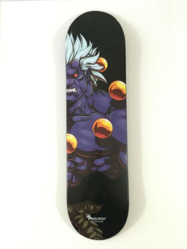Nsurgo Street Fighter 2016 SDCC Exclusive Oni Skateboard Brand New